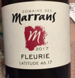 Fleurie - Domaine des Marrans - 2017 - Rouge