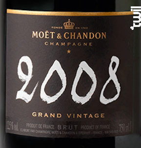 Grand Vintage - Moët & Chandon - 2008 - Effervescent