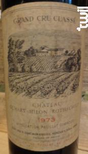 Château Duhart Milon - Domaines Barons de Rothschild - Château Duhart-Milon - 1967 - Rouge