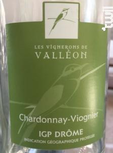 Chardonnay - Viognier - Les Vignerons de Valleon - 2018 - Blanc