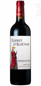 Esprit D'Aliénor - Vignobles Chatonnet - 2018 - Rouge
