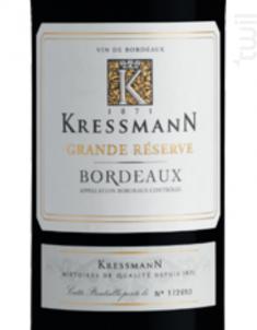 Kressmann Grande Reserve - Kressmann - 2014 - Rouge