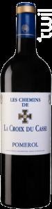 Les Chemins De La Croix Du Casse - Borie Manoux- Château la Croix du Casse - 2013 - Rouge