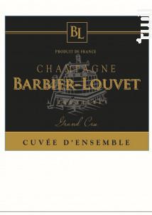 Cuvée d'Ensemble Prestige Grand Cru - Champagne Barbier-Louvet - Non millésimé - Effervescent