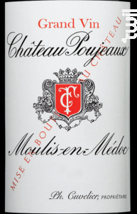 Château Poujeaux - Château Poujeaux - 2012 - Rouge