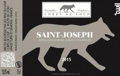 Saint-Joseph - Domaine de Corps de Loup - 2018 - Blanc