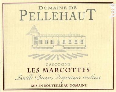 Les Marcottes - Domaine de Pellehaut - 2016 - Rouge
