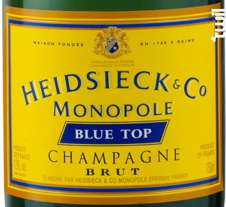 Blue Top - Heidsieck & CO Monopole - Non millésimé - Effervescent