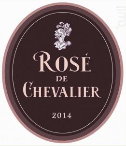 Rosé de Chevalier - Domaine de Chevalier - 2014 - Rosé