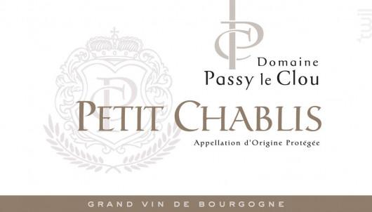 PETIT-CHABLIS - Vins Descombe - 2017 - Blanc