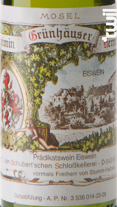 Riesling Herrenberg Eiswein (37,5cl) - Maximin Grunhaus von Schubert - 2008 - Blanc
