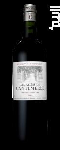 Les Allées de Cantemerle - Château Cantemerle - 2013 - Rouge