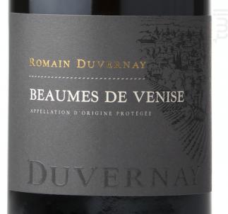 Beaumes de Venise - Romain Duvernay - 2016 - Rouge