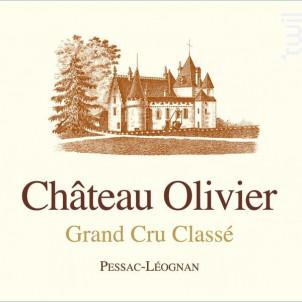 Château Olivier - Château Olivier - 2015 - Rouge