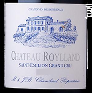 CHATEAU ROYLLAND - CHATEAU ROYLLAND - 2014 - Rouge