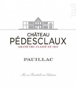 Château Pédesclaux - Château Pédesclaux - 2018 - Rouge