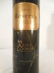 Reserva - Bodega Reina Elionor - 2001 - Rouge