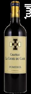 Château la Croix du Casse - Borie Manoux- Château la Croix du Casse - 2012 - Rouge