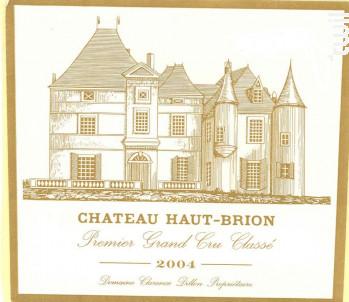 Château Haut-Brion - Domaines Clarence Dillon- Château Haut-Brion - 2004 - Rouge