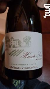 Albesco Chardonnay - Château de Haute-Serre - 2019 - Blanc