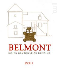 Domaine Belmont - Domaine Belmont - 2011 - Rouge