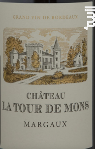 Château La Tour de Mons - Château La Tour de Mons - 2014 - Rouge