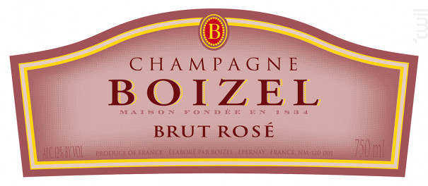 Joyau de France Rosé - Champagne BOIZEL - 2004 - Effervescent