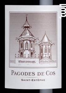 Les Pagodes de Cos - Cos d'Estournel - 2013 - Rouge