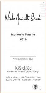MALVASIA PASSITU - Nicolas Mariotti Bindi - 2016 - Blanc
