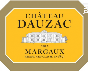 Château Dauzac - Château Dauzac - 5e Cru Classé - 2014 - Rouge