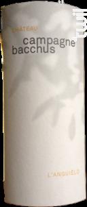 L'Anguielo - Château Campagne Bacchus - 2016 - Blanc