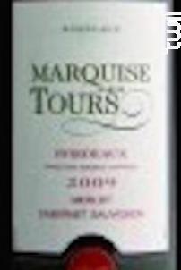 Marquise des Tours - Marquise des Tours - 2014 - Rouge