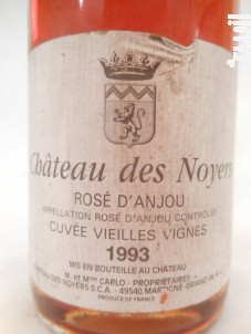 Rosé d'Anjou - Château des Noyers - 1993 - Rosé