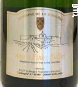 Anjou Fines Bulles Brut - Domaine de la Bougrie - 2014 - Effervescent