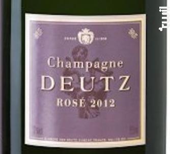 Brut Rosé - Champagne Deutz - 2013 - Effervescent