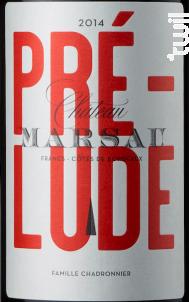 Prélude de Marsau - Château Marsau - 2014 - Rouge