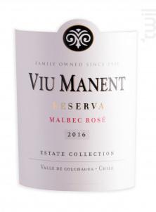 ESTATE COLLECTION - MALBEC - Viu Manent - 2018 - Rosé