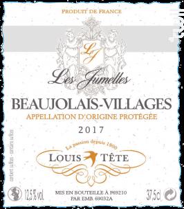 Les Jumelles - Louis Tête - 2017 - Rouge