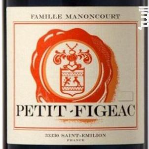 Petit figeac - Château Figeac - 2013 - Rouge