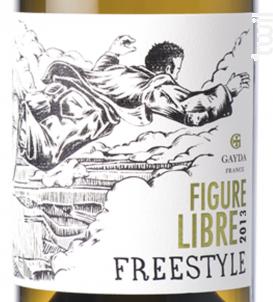 Figure Libre Freestyle Blanc - Domaine Gayda - 2017 - Blanc