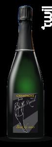 Brut de Noirs - Champagne Camille Marcel - Non millésimé - Effervescent