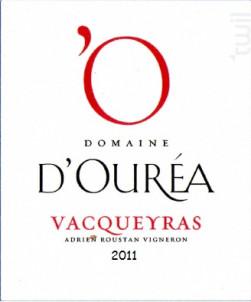 Vacqueyras - Domaine D'Ouréa - 2016 - Rouge