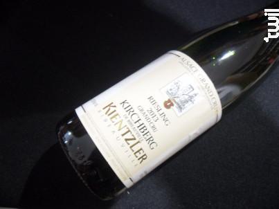 Riesling Kirchberg Grand Cru - André Kientzler Earl - 2013 - Blanc