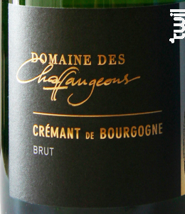 Crémant de Bourgogne - Domaine des Chaffangeons - Non millésimé - Effervescent