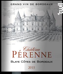 Château Pérenne - Château Pérenne - 2015 - Rouge