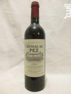 Château de Pez - Château de Pez - 1996 - Rouge