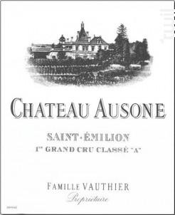 Château Ausone - Château Ausone - 1987 - Rouge