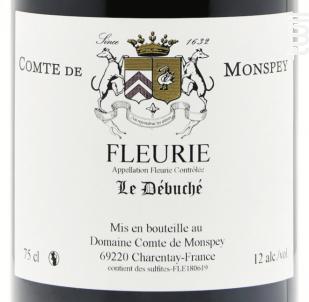 Le Débuché - Domaine Comte De Monspey - 2019 - Rouge