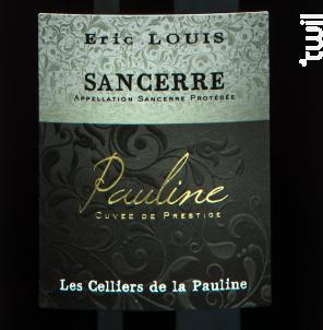 Sancerre Cuvée Pauline - Domaine Eric Louis - Les Celliers de la Pauline - 2018 - Rouge