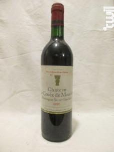 Château Croix De Mouchet - Château La Croix de Mouchet - 1990 - Rouge